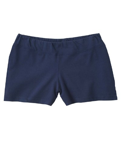Bella+for+Women%27s+elastic+waistband+sporty+Fitness+Shorts%2C+NAVY%2C+XX-Large