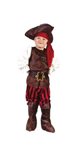 Pirate High Seas Toddler Boy Costume