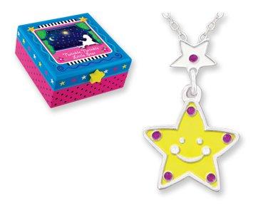 Twinkle Little Star Fairy Tale Necklace for Kids