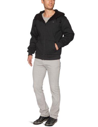Quiksilver Sherpa-KPMSW933 Men's Sweatshirt Black Medium