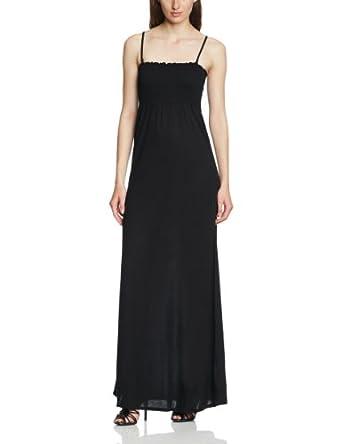 tom tailor denim damen kleid lang 50125770071 maxi bandeau dress gr 36 s schwarz 2999. Black Bedroom Furniture Sets. Home Design Ideas