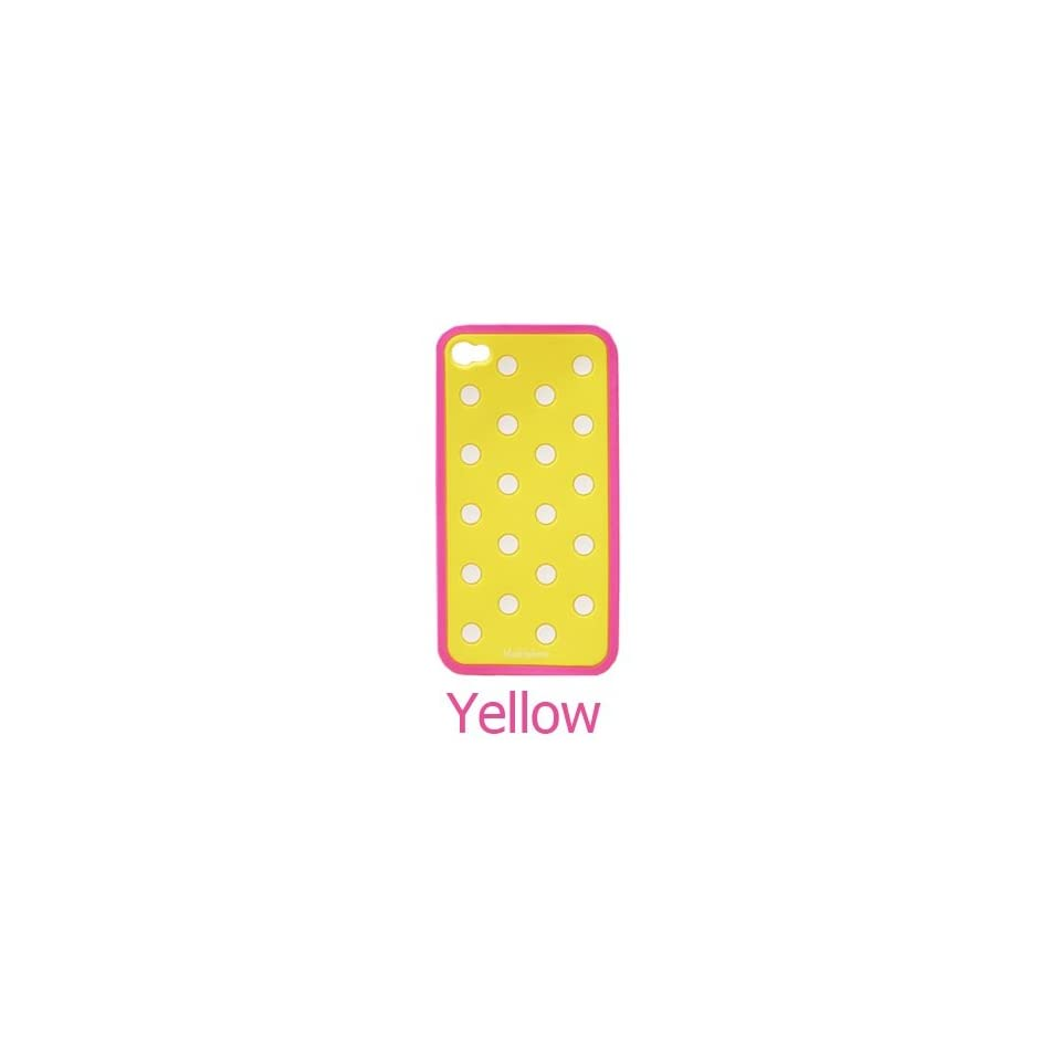 SWEETBOX PREMIUM Marksphere Polka Dot Silicone Case For