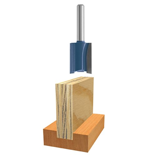 Bosch 84600M 15/64-Inch Plywood Mortising Router Bit 1/4-Inch Shank