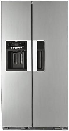 Whirlpool WSN5583AX American Fridge Freezer Free Standing Stainless Steel