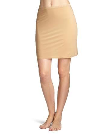 Calvin Klein Underwear - Naked Glamour - Jupon - Uni - Femme - Beige (Chair) - FR : 38 (Taille fabricant : M)