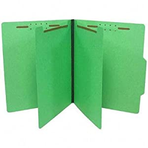 GUS59704 - Gussco Top Tab Six-Part Folder