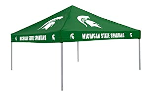 Michigan State Spartans Colored Tailgate Tent - NCAA College Athletics by Logo Chairs