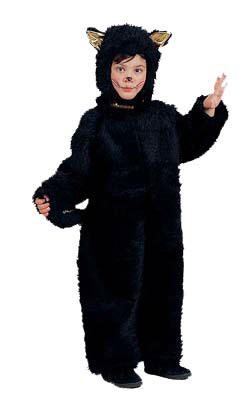 Child Plush Little Black Cat Costume (Varies slightly from picture)