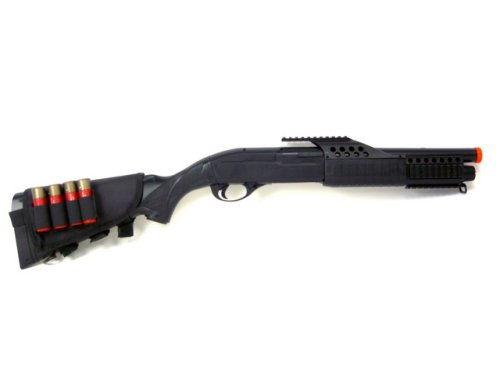 Shotgun Pump Action  realistic shells Airsoft