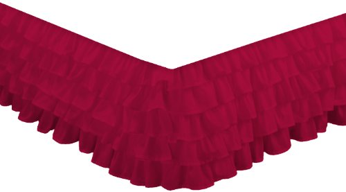 Hot Pink Bed Skirts front-1066636