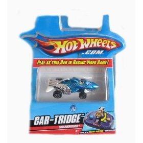 Buy Low Price Mattel Hotwheels Turbo Driver Sharkruiser Car-Tridge Figure (B001FYQELE)