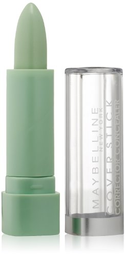 Maybelline New York Cover Stick Concealer, Green 195, 0.16 Ounce front-441889