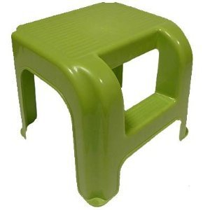 Inglenook Childrens Step Up Stool, Green
