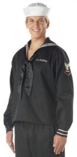 NEW Mens Adult Halloween Costumes Navy Sailor