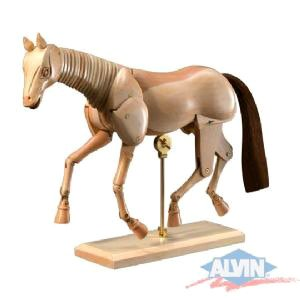 Wooden Horse Manikin