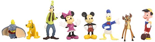 Beverly Hills Teddy Bear Company Disney Classic Characters Toy Figure Playset, 8-Piece - 1