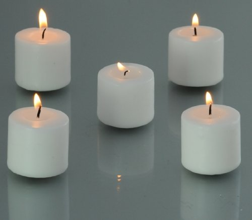Bulk 10 Hour White Votive Candles (288 Pieces), White