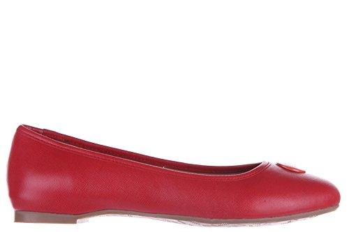 Armani Jeans ballerine donna in pelle originale rosso EU 37 C5779 23 4Q
