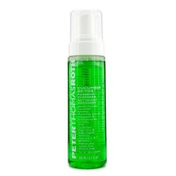 Peter Thomas Roth Cucumber DeTox Foaming Cleanser 6.7oz peter thomas roth lashes to die for trio