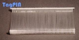 Kunststofffäden tagPin standard (10.000 fils de 40 mm (transparent)