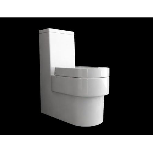 Design Stand Toilette, Klo Set Frei Stehend Am Boden / Standtoilette Moderne  Badezimmer Badkeramik, Bodenstehend Mit Wasser Sp Lung Inkl Toiletten ...