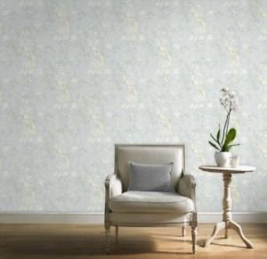 Gran Deco Paradise Bird Wallpaper - Duck Egg from New A-Brend