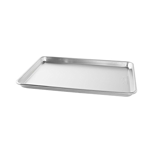 Nordic Ware Natural Aluminum Commercial Baker's Half Sheet (Aluminum Cooking compare prices)