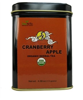 Organic Cranberry Apple Tea, Storehouse Of Benefits, Can Be Either Taken In Tea Or In A Juicy Form - 1Lb Tea Bag
