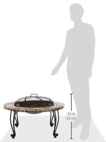 Endless-Summer-WAD820SP-34-in-Slate-Marble-Firepit-with-Copper-Accents