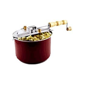 Whirley Pop Stovetop 6 Quart Popcorn Popper Color: Red