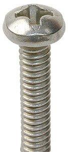 Screw, Pan Head 1.7x5 Nickel {Pkg of 25) торшер leds c4 torino 25 4695 81 82 pan 159 by