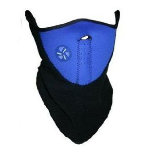 Cheapest Prices! Neck Warmer Face Mask Cycling Motorcycle Bike Ski Helmet Wind Veil Snowboard Blue