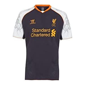 Warrior Liverpool Third Shirt 2012 2013 Purple Large