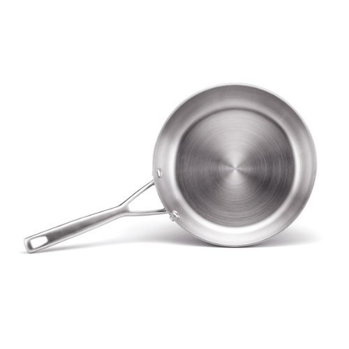 Anolon Chef Clad Stainless Steel 10-Inch Deep Skillet back-598282