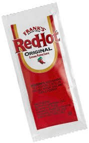 Frank's Red Hot Original Cayenne Pepper Sauce, 7-gram Pouch (100) Packets (Frank Hot Sauce compare prices)