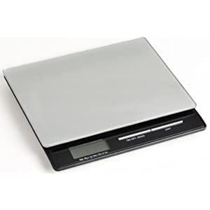 Duronic KS865 Slim Portable Glass top Kitchen Scales