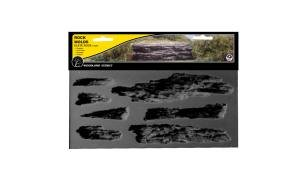 WOODLAND SCENICS C1247 Rock Mold Shelf Rock