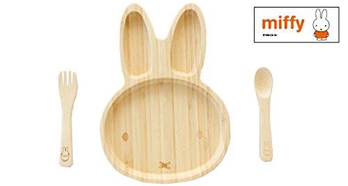 ミッフィーフェイスプレートセット 竹製食器 FUNFAM