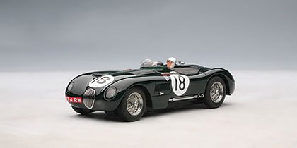 Autoart 1:32 Slot Car Jaguar C-Type Le Mans 1953 Winner 13571