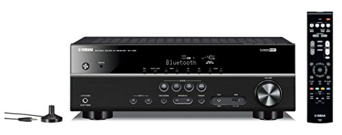 Yamaha RX-V381 5.1 Surround 3D Black - AV receivers (RCA, Surround, AM, FM, 24-bit/192kHz, 6.3 mm)