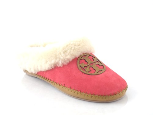 Buy Low Price Tory Burch Coley Suede Slipper Island Pink US 6 M (B004N8QBN0)