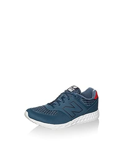 New Balance Sneaker MFL574-NG-D [Blu Grigio/Bianco]