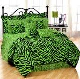 Karin Maki Zebra Lime Complete Bedding Set, Twin