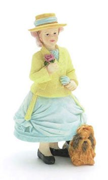 Dollhouse Daphne/girl with dog - 1