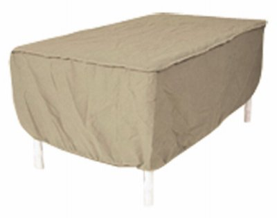 Protective Covers 1152 Tn Patio Table Cover Tan Vinyl 66 X 48 In