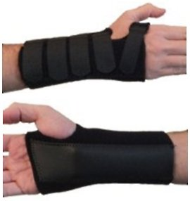 Actesso Advanced Wrist Support Splint: for Carpal Tunnel, Sprains, and Arthritis. Medically Approved
