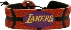 Los Angeles Lakers Classic Basketball Bracelet by GameWear