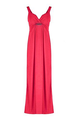 G2 Chic Women'S Casual Elegant Cocktail Maxi Dress(Drs-Max,Fch-Xl)