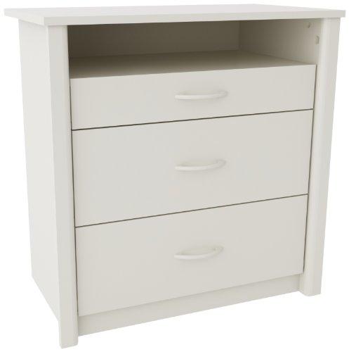 Altra Julian Media Dresser, White (Entertainment Center Dresser compare prices)