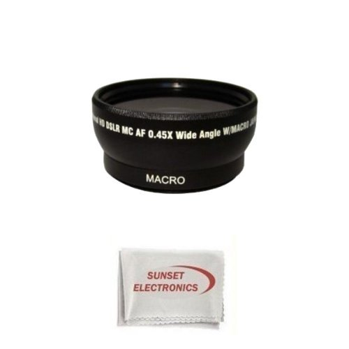 Extra large Wide Angle Lens With Macro lens For The Nikon Coolpix P5000 P5100, Digital Camera Tube Adapter Included